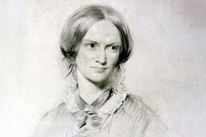 Portrait de Charlotte Brontë (extrait) par  George Richmond (1809-1896)