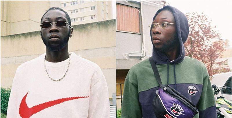 9a57952f00349 Supreme dévoile sa collab rétro avec Nike shootée en banlieue parisienne