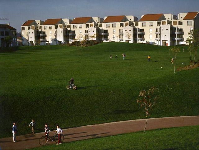 Parc du Pas Saint Christophe - Cergy Pontoie, 1984