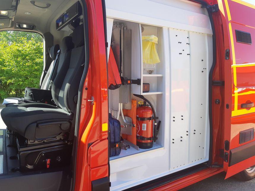 Un équipement pensé en fonction des remarques des pompiers