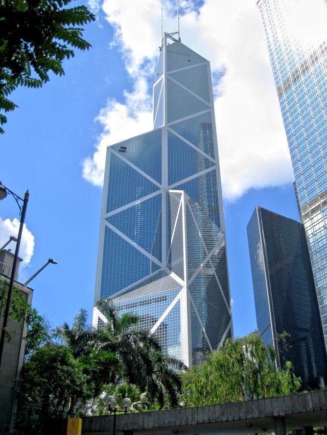 Bank of China à Hong Kong