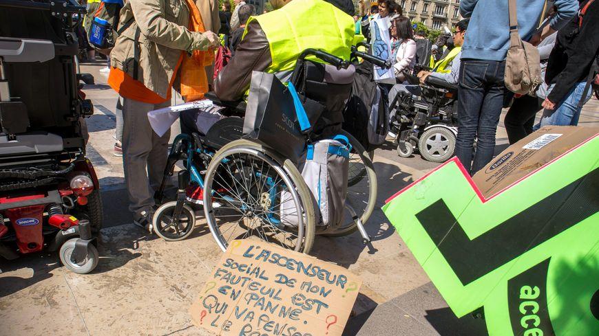 L'association APF France Handicap appelle à une mobilisation nationale ce 14 mai à Paris