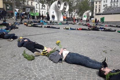 Die in, Centre Pompidou, Paris, avril 2019.