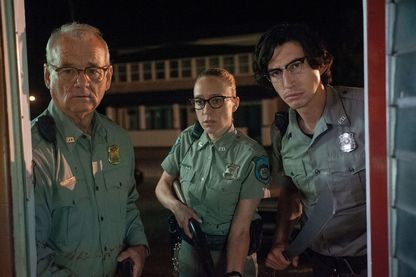 "Adam Driver, Bill Murray, Chloë Sevigny dans ""The Dead Don't Die"" de Jim Jarmush qui a ouvert le festival de Cannes 2019"