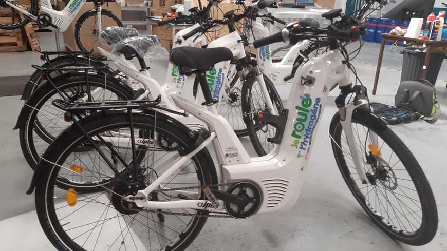 Pragma Industries doit fournir 200 vélos à hydrogène pour mi-août