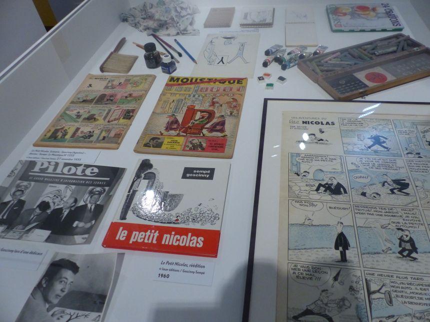 300 dessins, dont plusieurs inédits, sont exposés.