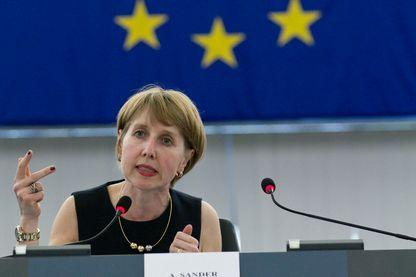 Anne Sander, députée européenne LR, candidate pour les élections européennes