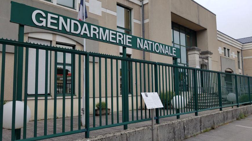 La caserne de gendarmerie de Lons-le-Saunier dans le Jura.