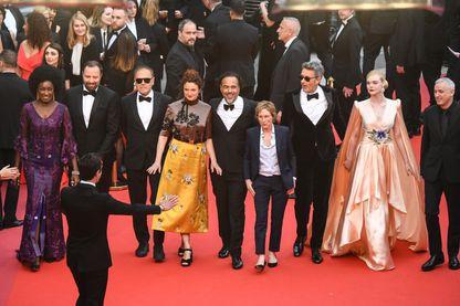 Le jury  du Festival de cannes 2019, le 14 mai 2019.