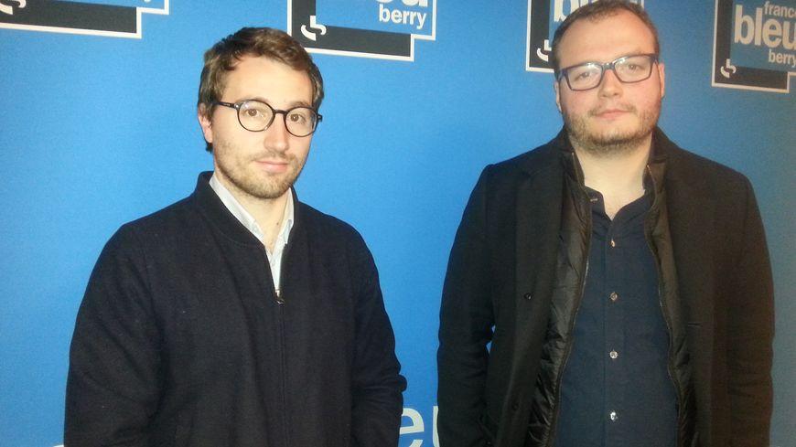 Antoine Léaument et Aymeric Compain de la France Insoumise demandent au maire de Châteauroux, Gil Avérous, de renoncer à armer les policiers municipaux de lanceurs de balles de défense