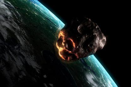 Un astéroïde menaçant la Terre