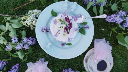 La cuisine aux fleurs