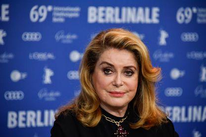 L'actrice Catherine Deneuve à la Berlinale le 12 février 2019.
