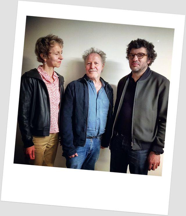 Linda de Zitter, Nicolas Philibert et Eric Caravaca
