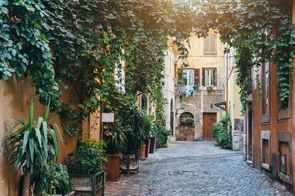 A Rome, dans le Trastevere