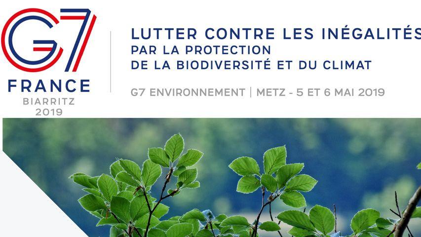 Le G7 de l'environnement a lieu le 5 et 6 mai à Metz