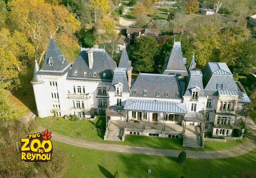 Le domaine avec son château qui appartenait à la famille du porcelainier Haviland.