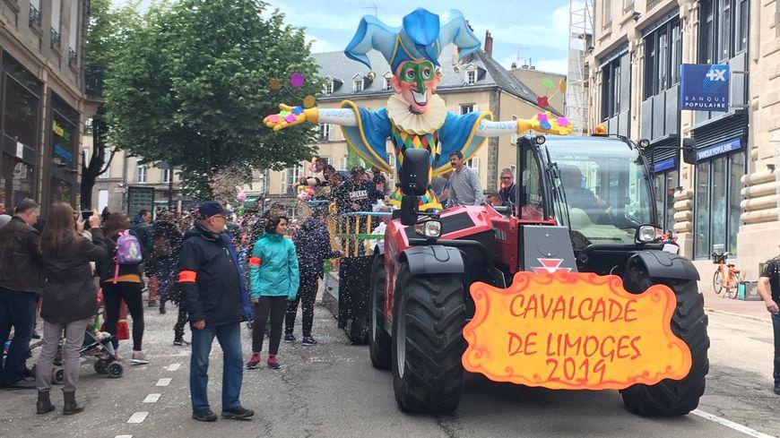 La cavalcade 2019 a enchanté petits et grands à Limoges ce dimanche