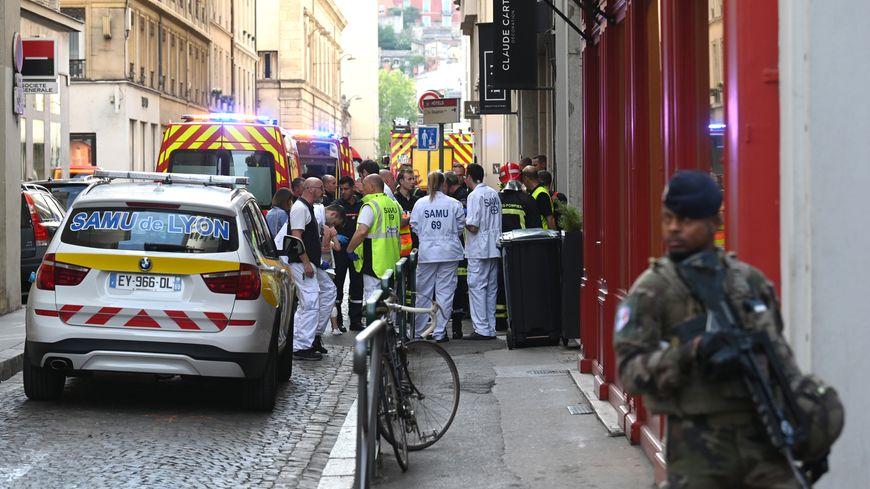 Une explosion a eu lieu dans le centre-ville de Lyon ce vendredi 24 mai 2019