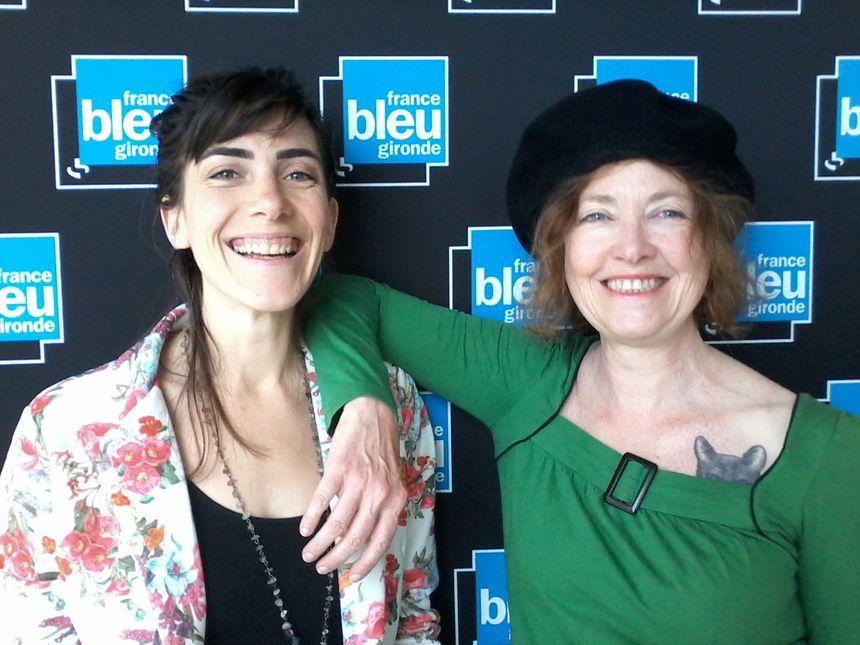 Elodie Boulard et Isabelle Camus