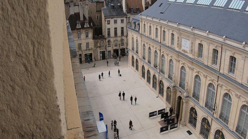 Cours du musée des Beaux-Arts de Dijon