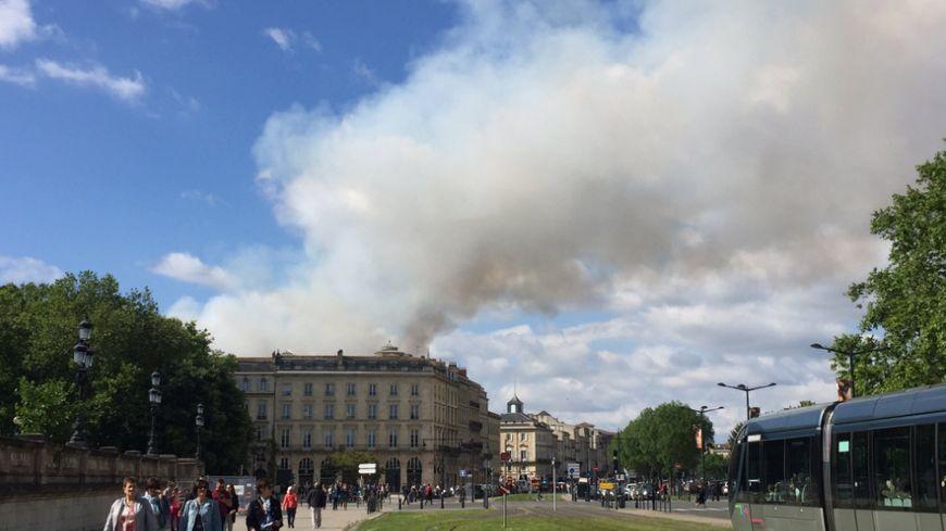 L'incendie s'est déclaré rue Ferrère.