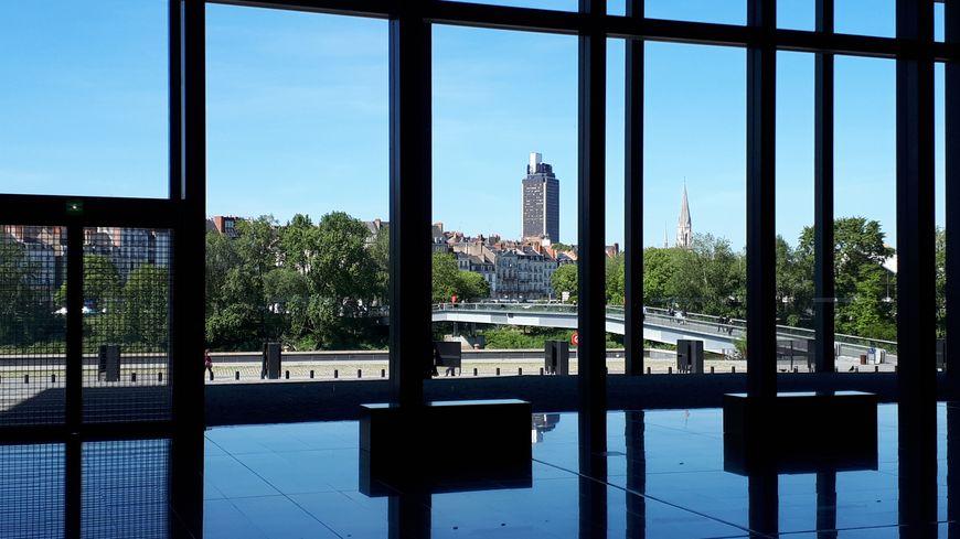 Le palais de justice de Nantes où s'est déroulé le procès des trois hommes.