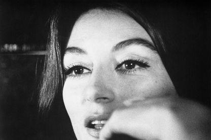 """Anouk Aimée dans """"Un homme et une femme"""" de Claude Lelouch en 1966"""