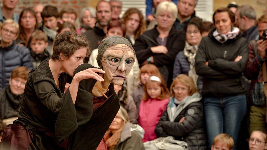 Le dernier festival de la marionnette de Charleville-Mézières, en 2017.