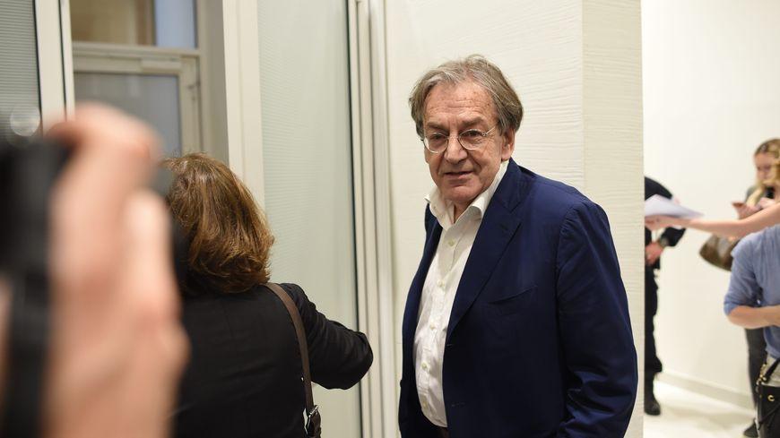 Alain Finkielkraut au procès de l'homme qui l'a insulté lors d'une manifestation des gilets jaunes à paris.