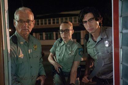 De droite à gauche : Adam Driver, Chloë Sevigny et Bill Murray, héros du dernier film de Jim Jarmusch