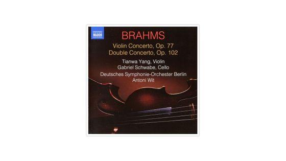 Brahms : Concerto pour violon et double concerto pour violon et violoncelle NAXOS