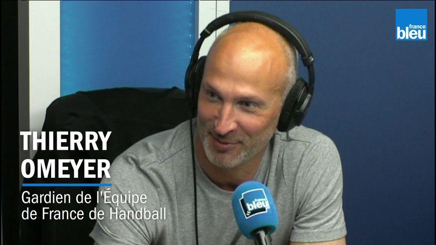 """Thierry Omeyer invité de """"Stade Bleu"""""""