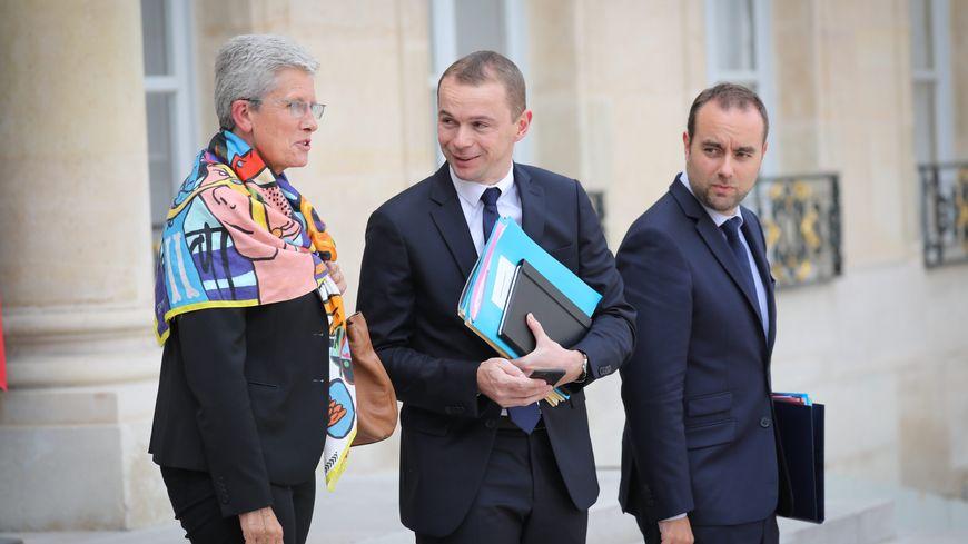 Genevieve Darrieussecq (à gauche) et Sébastien Lecornu (à droite) viennent à Périgueux