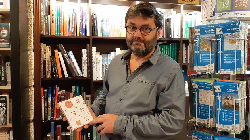 Frédéric Harscouët de la librairie Durance