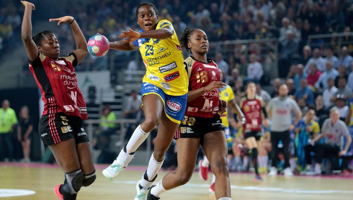 Metz Handball boucle sa saison sur un titre en Coupe de France