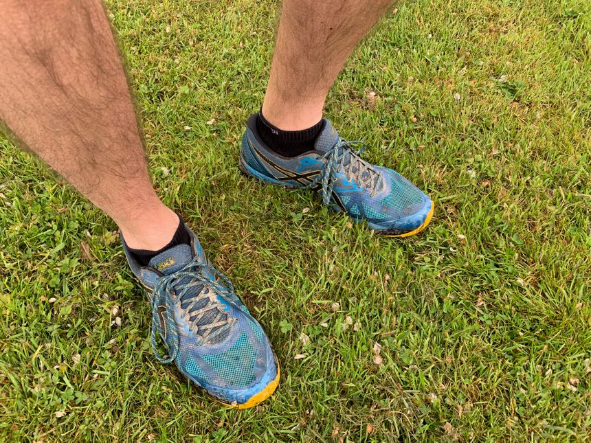 Les chaussures sont prêtes à endurer 800 kilomètres.