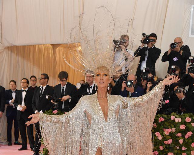 Céline Dion apparaît au gala du Met 2019