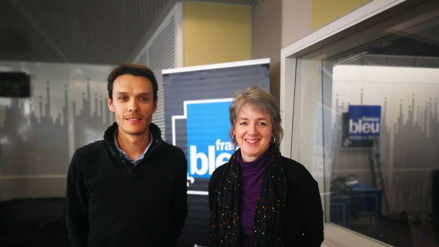 Miria De Cillis et Frédéric Bastet