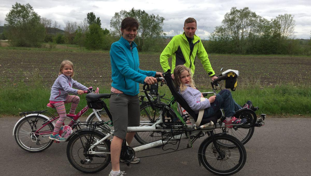 La famille Baudry part faire le tour d'Europe à vélo !