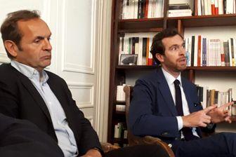 Bertrand Bouniol et Pierre-Louis Baudey, frère et fils de Sophie Toscan du Plantier.