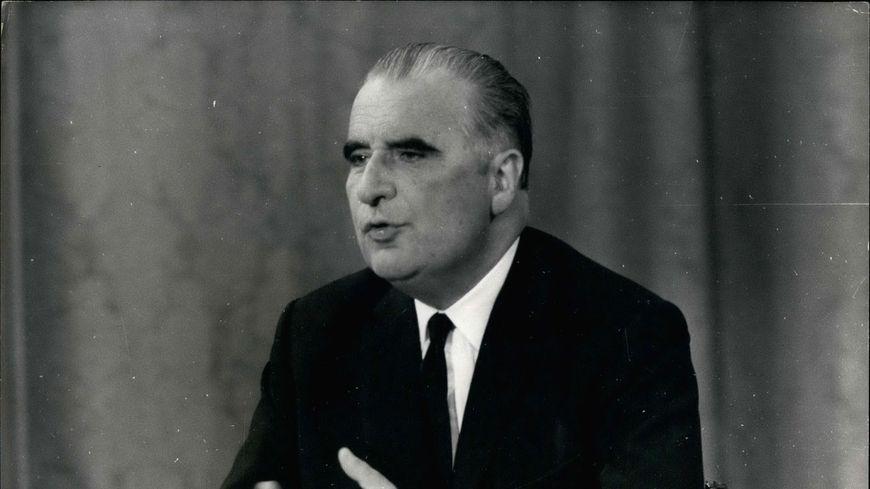 Georges Pompidou, président de 1969 à 1974