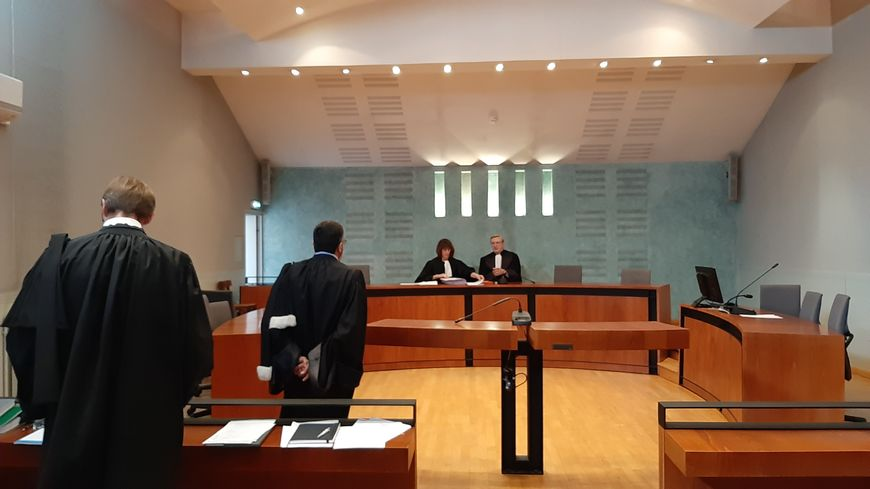 La salle d'audience du tribunal de commerce de Toulouse