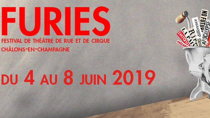 Furies - du 4 au 8 juin 2019 à Châlons-en-Champagne