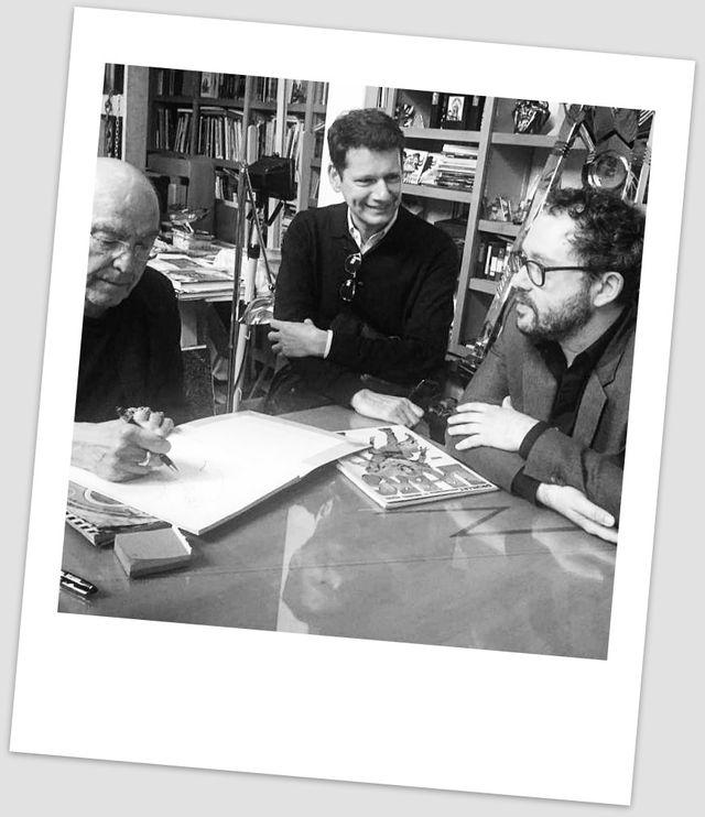 Philippe Druillet, Vincent Josse et Riad Sattouf