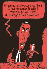 Et nos lendemains seront radieux Planche Ed Gallimard BD