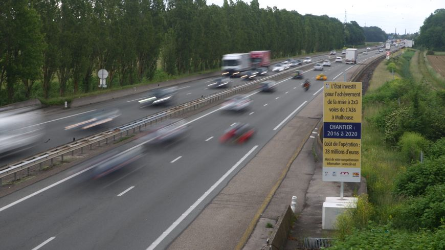 A36 : la traversée de Mulhouse à nouveau en chantier, des