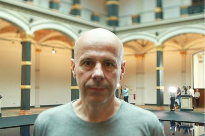 L'artiste plasticien Philippe Parreno le 24 mai 2018 à Berlin.