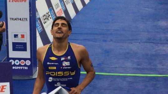 La délivrance pour Anthony Pujades de Poissy Triathlon