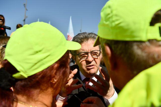 Le leader de la France Insoumise, Jean-Luc Mélenchon, a défilé ce mercredi à Marseille, la ville où il est élu.